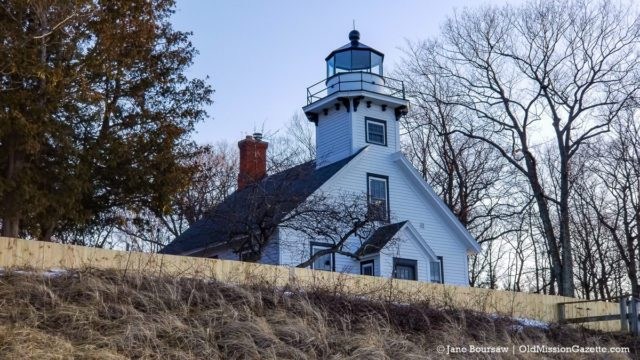 Mission Point Lighthouse on the Old Mission Peninsula | Jane Boursaw Photo