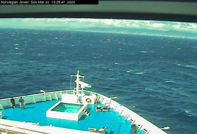 Norwegian Jewel Arrives in Hawaii   Norwegian Jewel Webcam