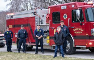 Peninsula Fire Department leads birthday parade | Jane Boursaw Photo