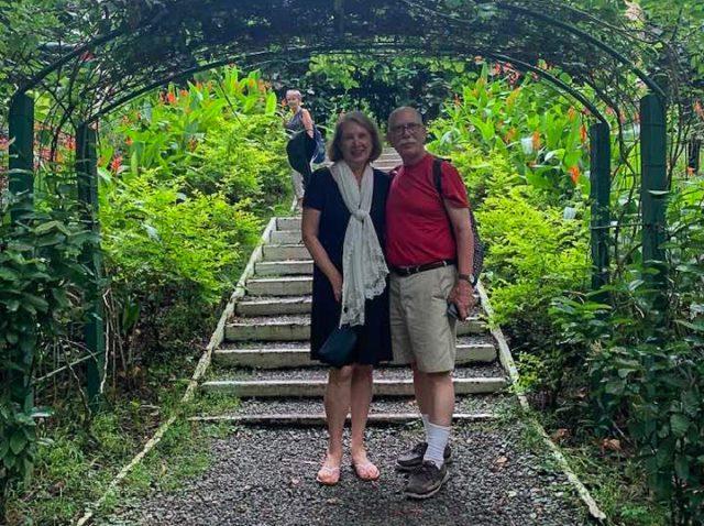 Vicki and Bob Shurly in Fiji Amidst Growing COVID-19 Concerns | Vicki Shurly Photo