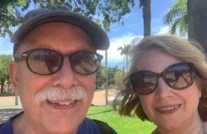 Vicki and Bob Shurly in New Caledonia Amidst Growing COVID-19 Concerns | Vicki Shurly Photo