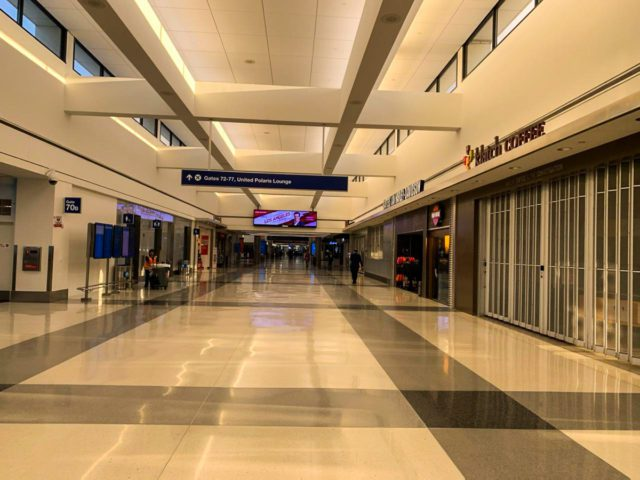 LAX: An Empty Airport Amidst the COVID-19 Pandemic | Vicki Shurly Photo