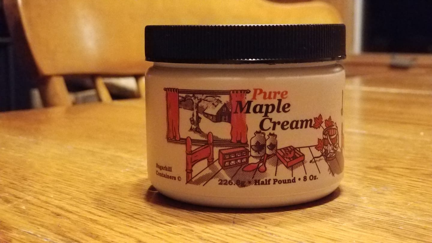 Maple Cream from Old Mission Maple on the Old Mission Peninsula