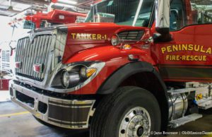 Oct. 12, 2019: New Tanker at the Peninsula Fire Department Open House | Jane Boursaw Photo