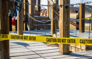 Peninsula Township Playgrounds Closed | Jane Boursaw Photo