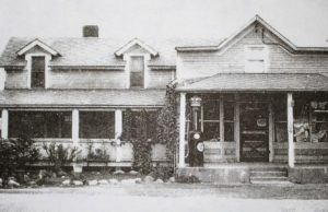 Bowers Harbor Store on the Old Mission Peninsula, circa 1946   A Century of Service Photo