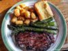 Grilled asparagus from Local Yokels Farm Stand on the Old Mission Peninsula | Jane Boursaw Photo