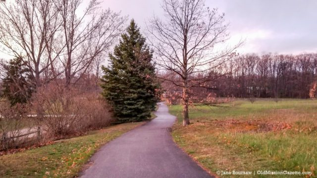 Paved Trail at Bowers Harbor Park on the Old Mission Peninsula | Jane Boursaw Photo