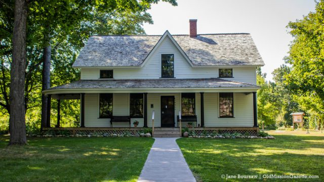 Dougherty Mission House in Old Mission, Michigan | Jane Boursaw Photo