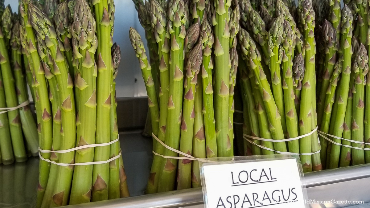 Asparagus from Local Yokels Farm Stand on the Old Mission Peninsula | Jane Boursaw Photo