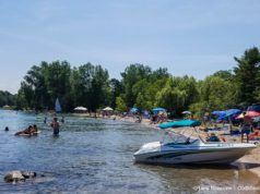 Haserot Beach on July 4 2020 Weekend | Jane Boursaw Photo, Old Mission Peninsula