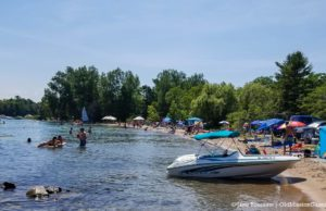 Haserot Beach on July 4 2020 Weekend | Jane Boursaw Photo, Old Mission Peninsula