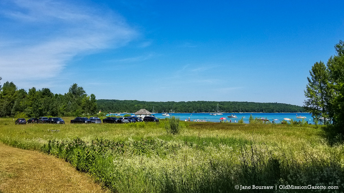 Kelley Park Beach July 4 2020 Weekend | Jane Boursaw Photo, Old Mission Peninsula
