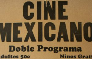 Mexican Drive-In Poster; Bowers Harbor on the Old Mission Peninsula, 1960s | Poster Courtesy of Katy Kern