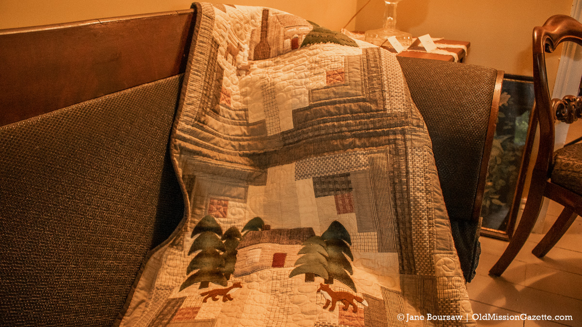 Primitive Quilts Magazine Photo Shoot at the Dougherty House on the Old Mission Peninsula | Jane Boursaw Photo