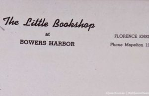 The Little Bookshop at Bowers Harbor Letterhead | Source: Terry Hooper of Hooper's Farm Gardens on the Old Mission Peninsula