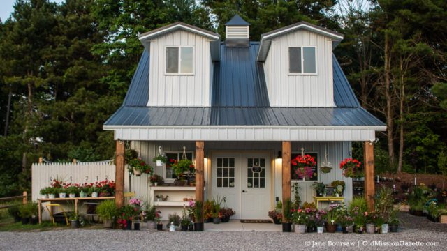 Little Fox Farm, Display Garden and Farm Stand, on the Old Mission Peninsula | Jane Boursaw Photo