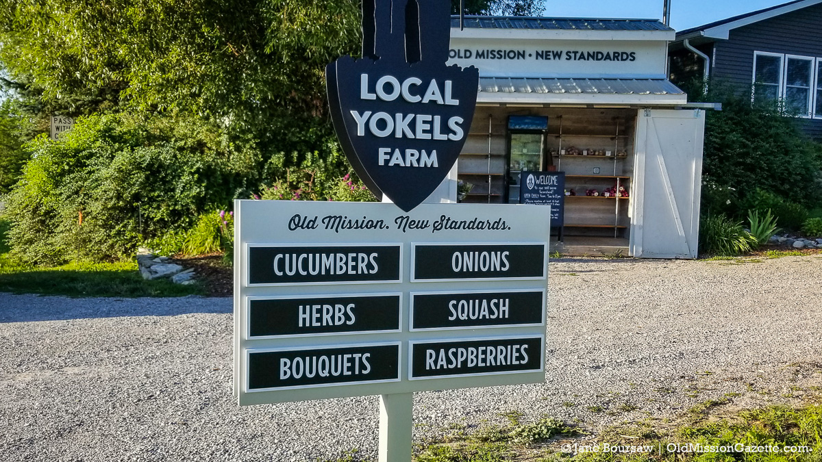 Local Yokels Farm Stand on the Old Mission Peninsula | Jane Boursaw Photo