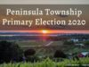 Peninsula Township Primary Election 2020 | Jane Boursaw Photo