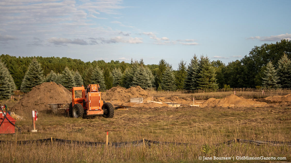 Peninsula Township breaks ground on new Fire Station 3 on Center Road | Jane Boursaw Photo