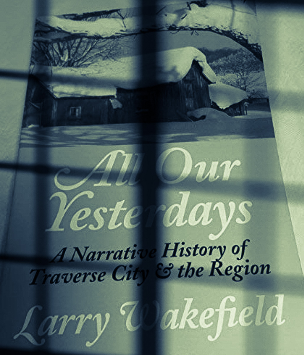 All Our Yesterdays by Larry Wakefield; Murder Mystery at Peninsula Community Library | Jane Boursaw Photo