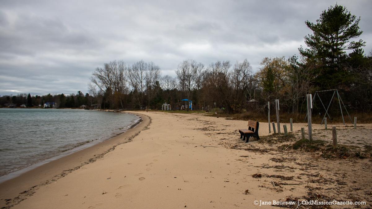 Haserot Beach on the Old Mission Peninsula | Jane Boursaw Photo