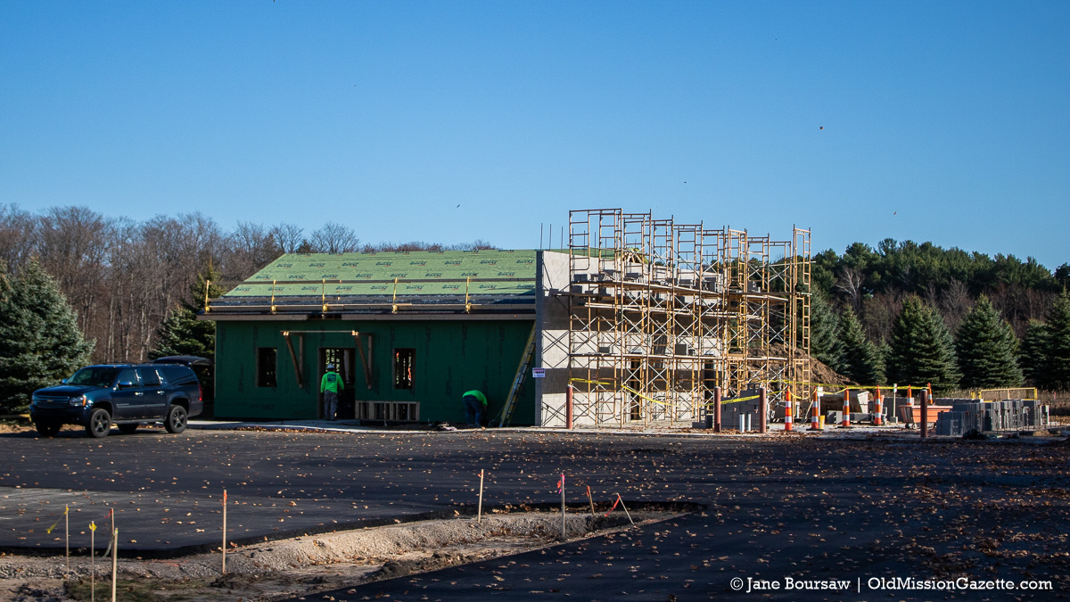 New Fire Station 3 takes shape on the Old Mission Peninsula | Jane Boursaw Photo