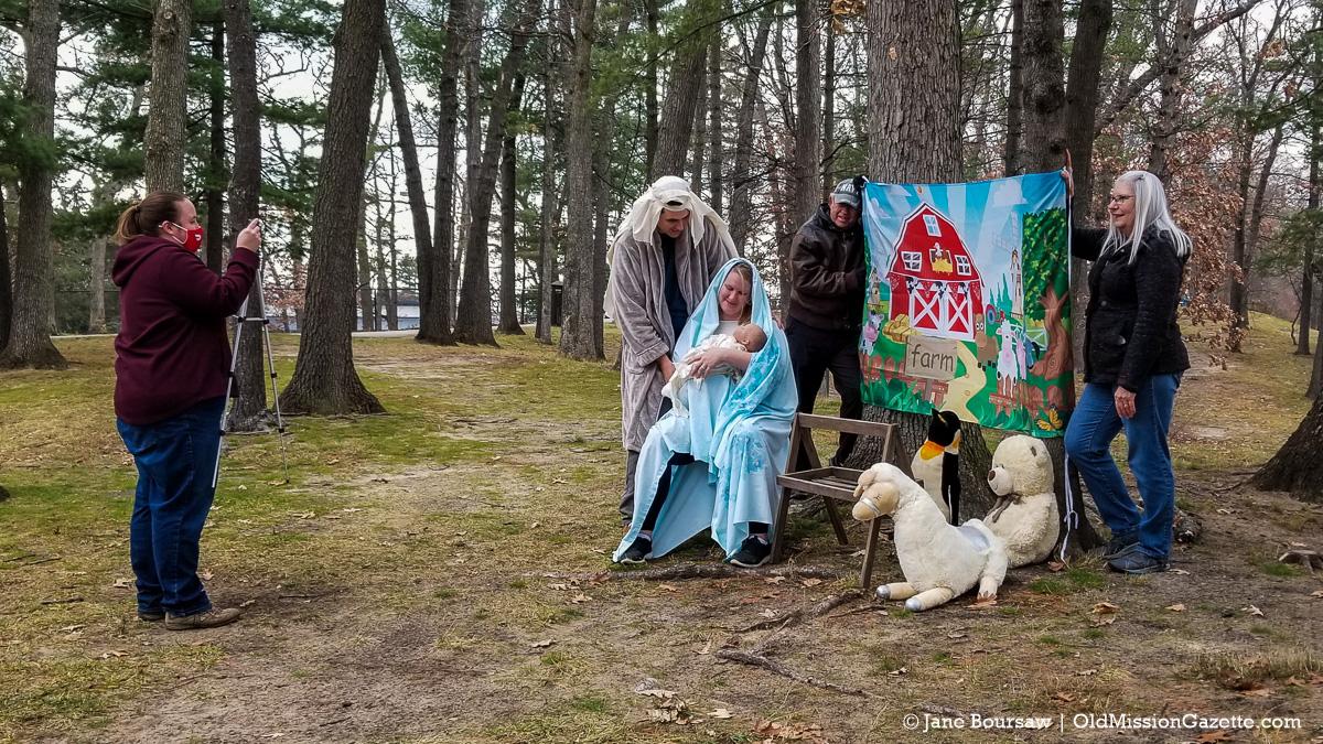 Old Mission Peninsula United Methodist Church Children's Christmas Program Video | Jane Boursaw Photo