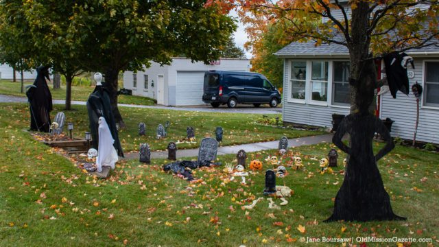 Halloween at Old Mission Inn on the Old Mission Peninsula | Jane Boursaw Photo