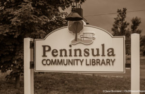 Peninsula Community Library - Cozy November Murder Mystery | Jane Boursaw Photo