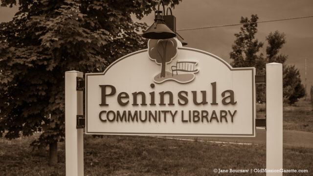 Peninsula Community Library - Cozy November Murder Mystery | Jane Boursaw Photo