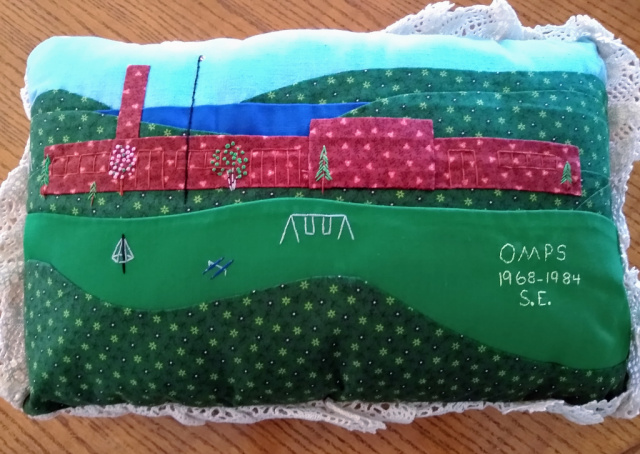 OMPS Pillow made for Shirley Blackmore | Bonnie (Blackmore) Cudney Photo