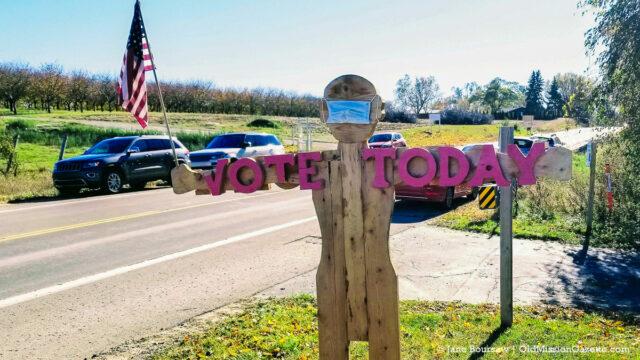 Peninsula Township Elections | Jane Boursaw Photo