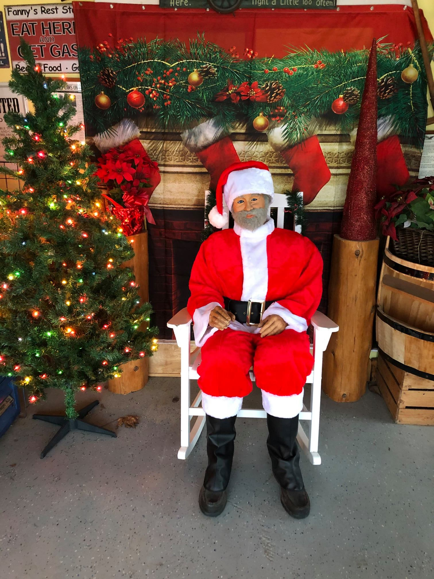 Get your pictures taken with Santa at Buchan's Blueberry Hill | Buchan Photo
