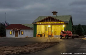 Peninsula Township Fire Department; New Fire Station 3 on the Old Mission Peninsula | Jane Boursaw Photo
