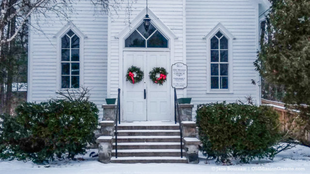 Old Mission Congregational Church on the Old Mission Peninsula | Jane Boursaw Photo