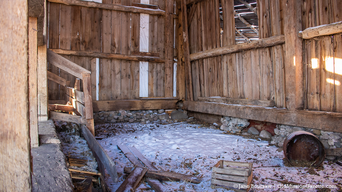 Historic Ted Ayers Barn demolished on the Old Mission Peninsula | Jane Boursaw Photo