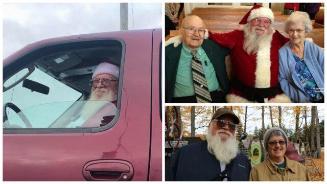 Old Mission Santa Jack Lardie Keeps Magic in Christmas | Jane Boursaw Photo