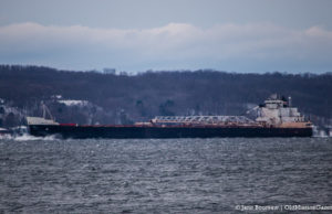 American Courage takes shelter in West Grand Traverse Bay | Jane Boursaw Photo