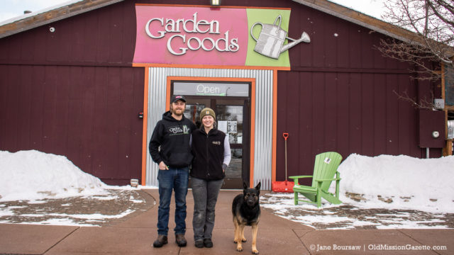 Garden Goods in Traverse City under new ownership of Cory and Elise Holman | Jane Boursaw Photo