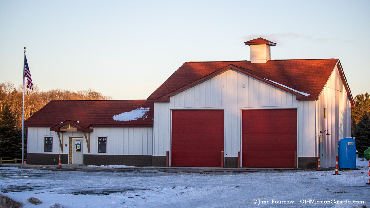 Peninsula Township Fire Department's New Fire Station 3 on the North End | Jane Boursaw Photo