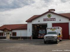 Peninsula Fire Department; Ribbon-Cutting Ceremony, Fire Station 3, March 22, 2021 | Jane Boursaw Photo