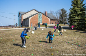 Easter Egg Hunt at Old Mission Peninsula United Methodist Church | Jane Boursaw Photo