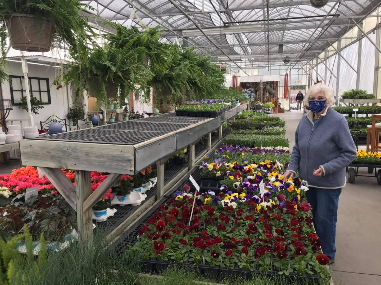 Georgia Holman at Garden Goods in Traverse City, Michigan   Garden Goods Photo