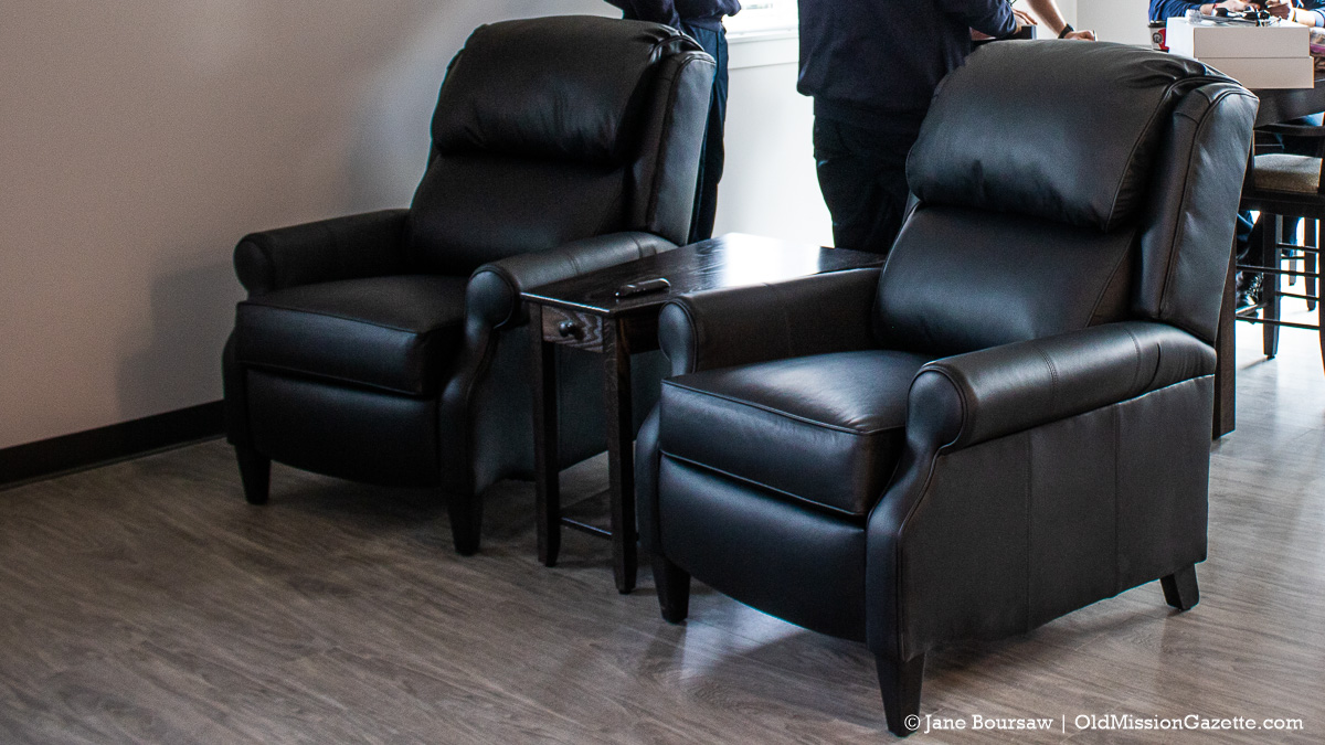 Furniture Donated by Golden-Fowler Home Furnishings for Fire Station 3 | Jane Boursaw Photo