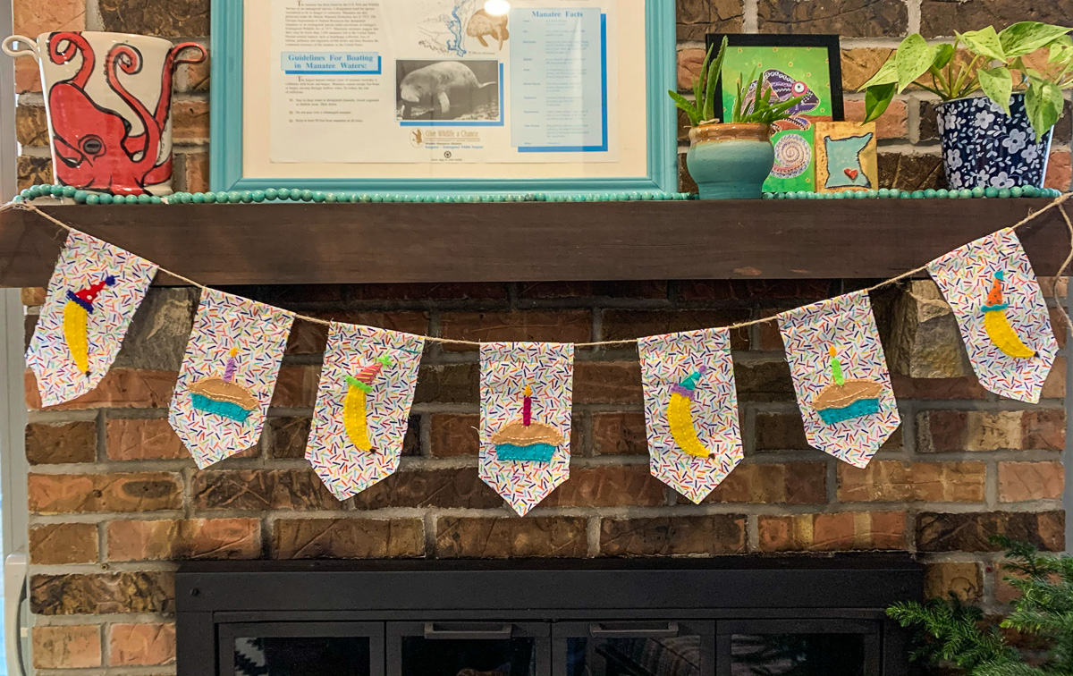 Caitlin's Special Birthday Banner for Pie | Davies Photo