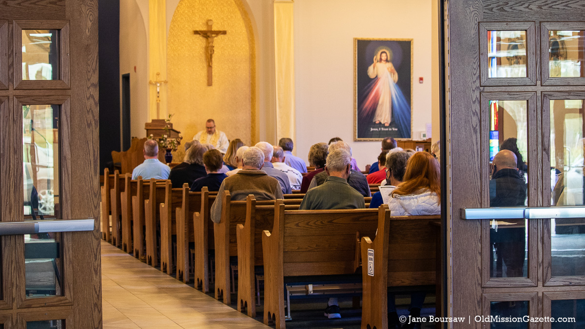 Blessing of the Blossoms on the Old Mission Peninsula; St. Joseph Catholic Church | Jane Boursaw Photo