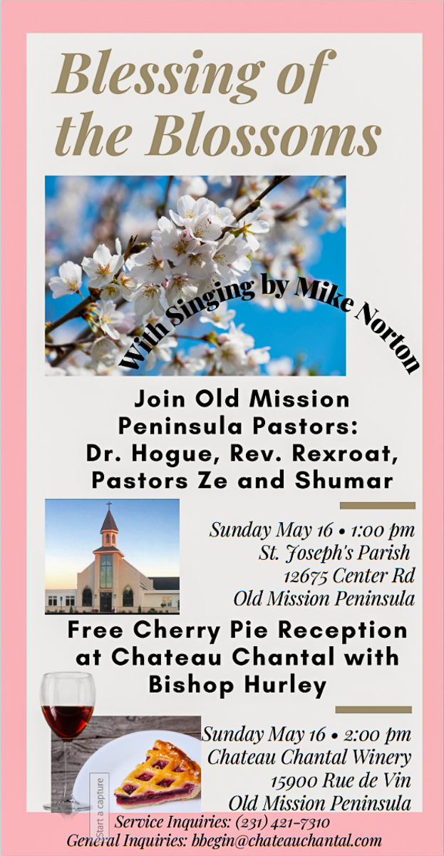 Blessing of the Blossoms 2021 | Chateau Chantal