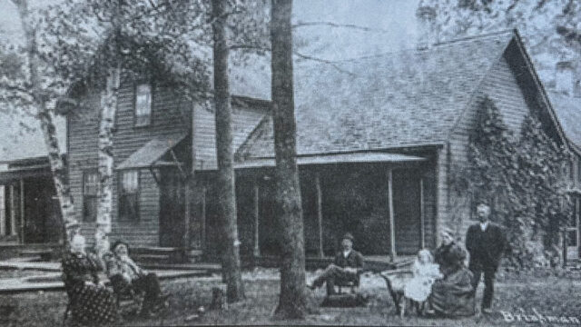 Brinkman residence on Woodland Avenue in the village of Old Mission on the Old Mission Peninsula, date unknown | A Century of Service Photo