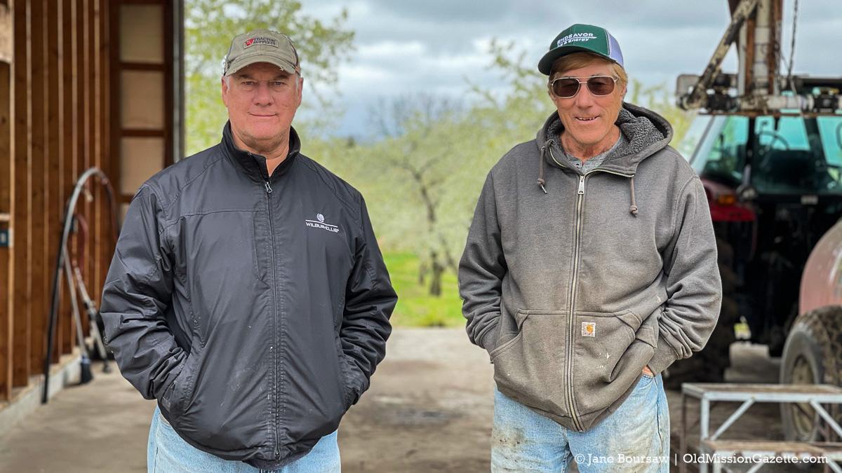 Ward Johnson, left, and Dean Johnson of Johnson Farms | Jane Boursaw Photo